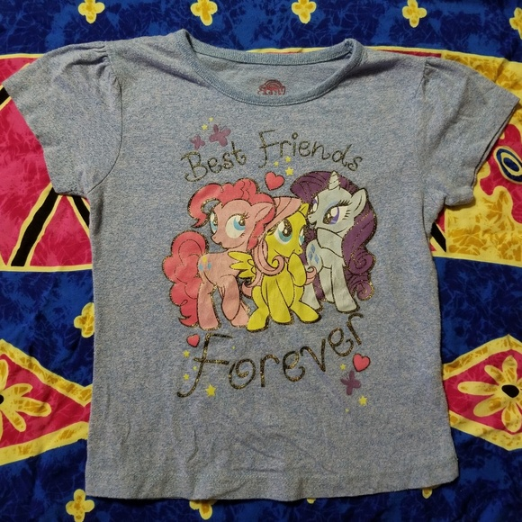 c506f13c1 My Little Pony Shirts & Tops | Best Friends Forever Girls Tee 3t ...
